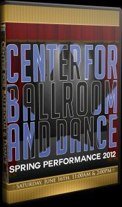 Summer dance recital video created for Center for Ballroom and Dance.
